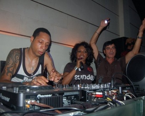 Dj Spen & Barbara Tucker & DJ Pippi at Junction 2008